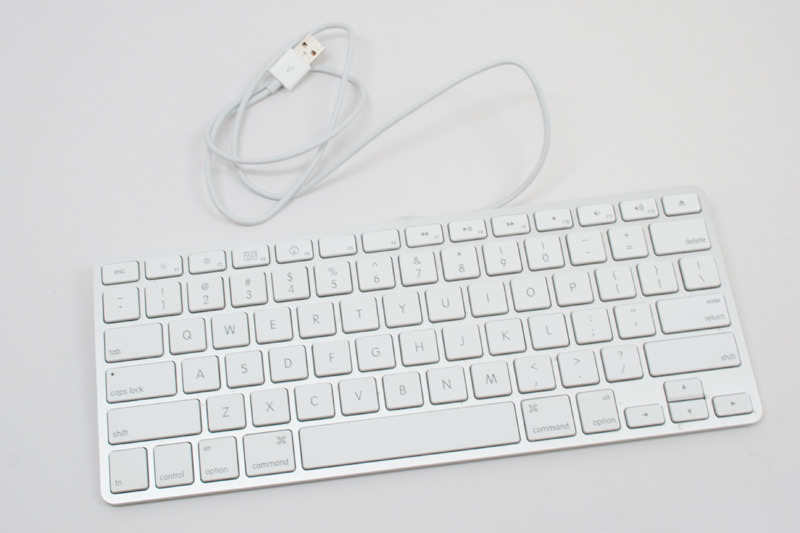 The Apple USB Keyboard